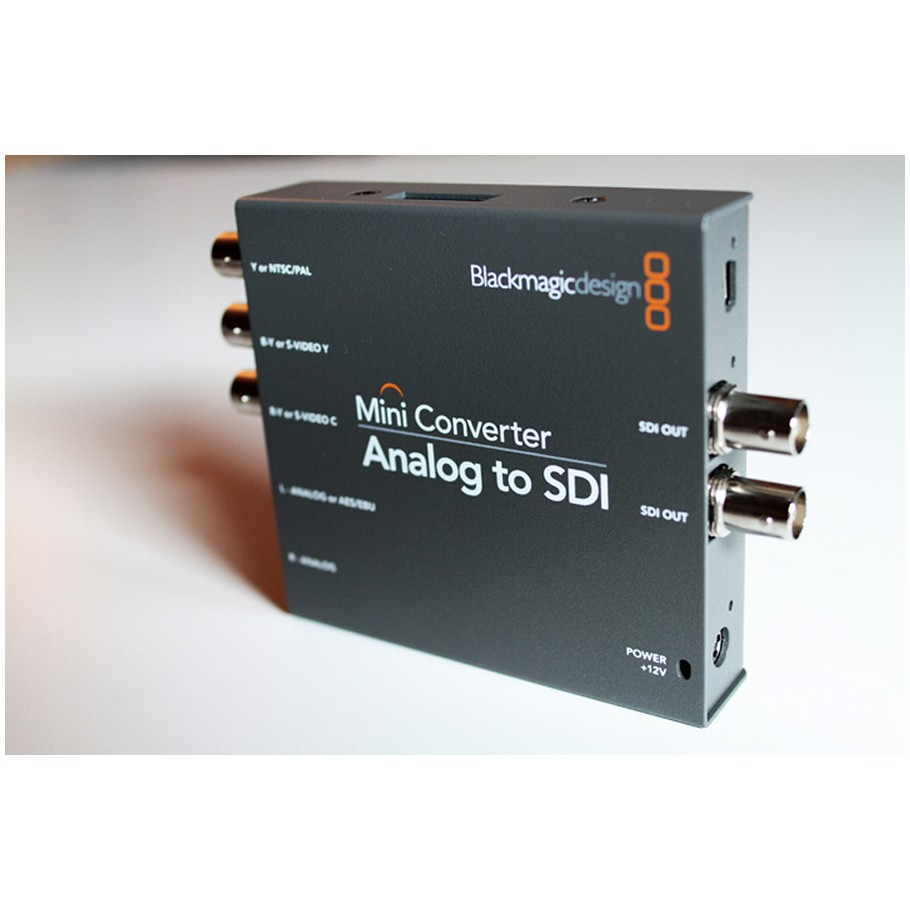 Blackmagic Mini Converter Analog To Sdi 2 Analog To Sdi Converter