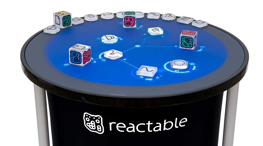 Reactable is installed at TEI Ionion Academic Institution